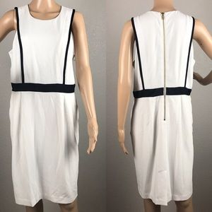 Worthington black and white dress sz 14